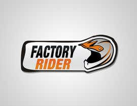 #32 untuk Design a Logo for Factory Rider - A Motorcycle Accessory Website oleh sorinakevw