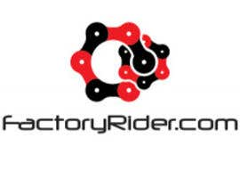 #6 for Design a Logo for Factory Rider - A Motorcycle Accessory Website by MichaelEd