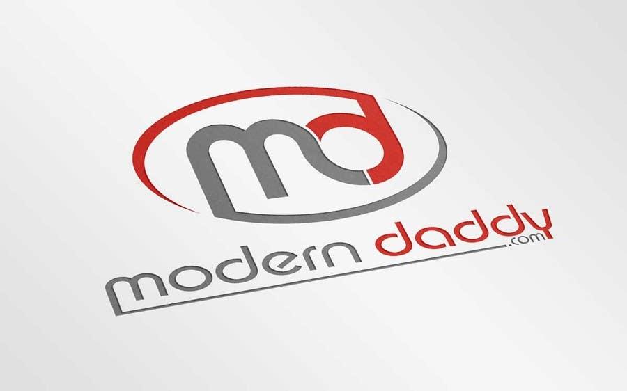 Penyertaan Peraduan #118 untuk Design a Logo for Modern-Daddy.com