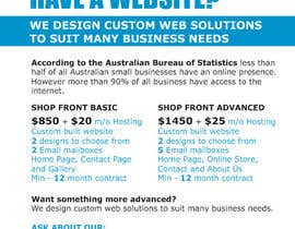 #10 for Design a Flyer for Web Design and Web Hosting company af avtoringUK