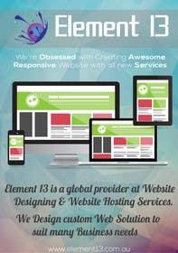 #1 for Design a Flyer for Web Design and Web Hosting company af rjsoni1992