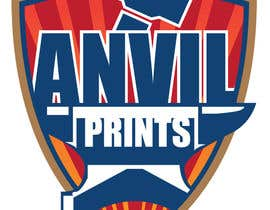 #61 para Design a Logo for my company: Anvil Prints por polturtle