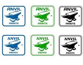 #52 para Design a Logo for my company: Anvil Prints por niccroadniccroad