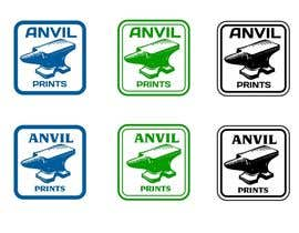 #57 para Design a Logo for my company: Anvil Prints por niccroadniccroad