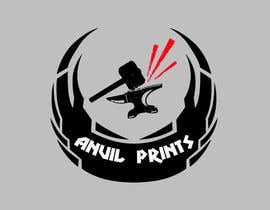 #30 para Design a Logo for my company: Anvil Prints por insane666