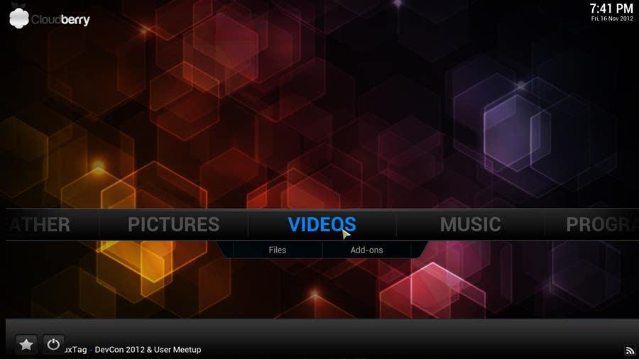 Penyertaan Peraduan #73 untuk I need some Graphic Design for background in XBMC