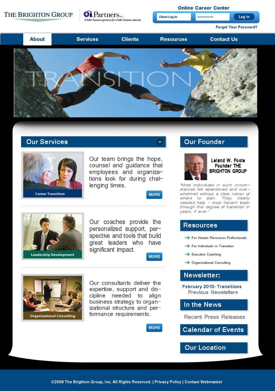 Proposition n°53 du concours Website Redesign