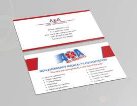 wajhikhan tarafından Design some Business Cards for Med Transporter için no 28