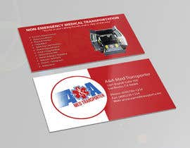 wajhikhan tarafından Design some Business Cards for Med Transporter için no 29