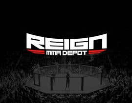 #63 untuk Design a FRESH and INTERESTING Logo for REIGN MMA DEPOT oleh Odaisu