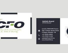 #28 untuk Cards-FirstCFO oleh Shrey0017