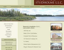 #15 dla Website Design for Manewitz & Studholme LLC przez dand3li8n