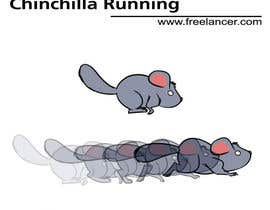 #8 for Animated, Chinchilla Running, Loading Icon af HelberSoares
