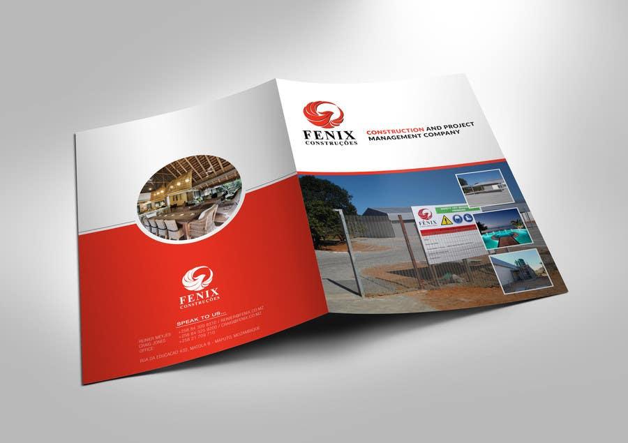 Penyertaan Peraduan #12 untuk Design a multi-purpose brochure for Construction Company