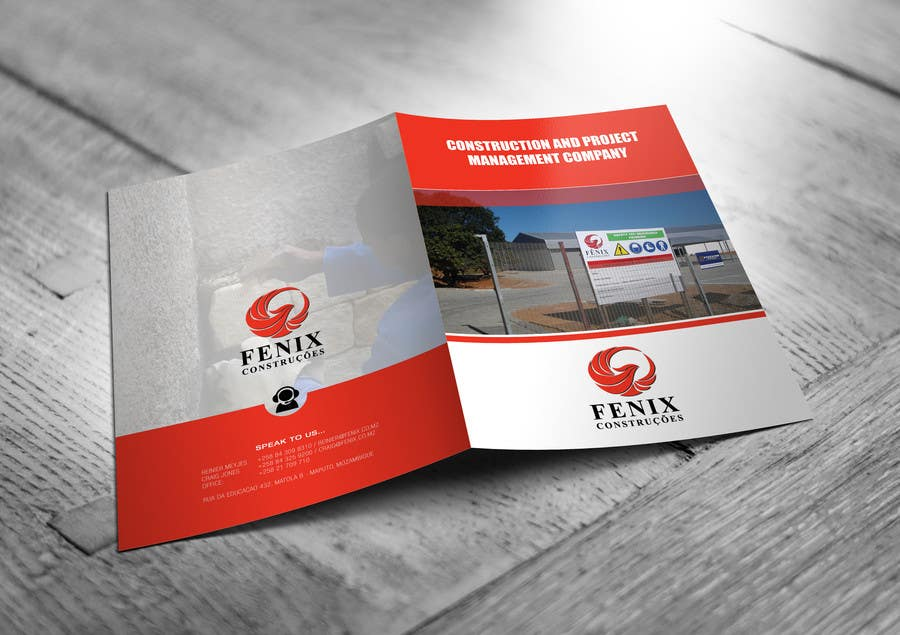 Penyertaan Peraduan #14 untuk Design a multi-purpose brochure for Construction Company