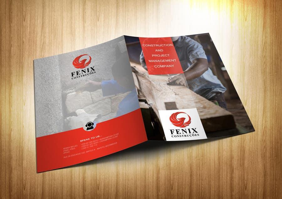 Penyertaan Peraduan #17 untuk Design a multi-purpose brochure for Construction Company