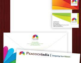 nº 14 pour Develop a Corporate Identity for the Name Peacockindia par CBDesigns101