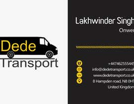 #19 untuk Design some Business Cards for DEDE Transport oleh LSinghCG