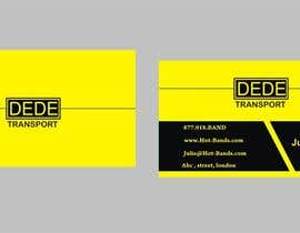 #32 untuk Design some Business Cards for DEDE Transport oleh Shrey0017