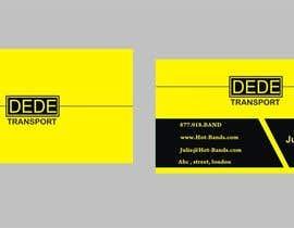 Shrey0017 tarafından Design some Business Cards for DEDE Transport için no 32