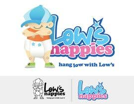 #94 Logo Design for Low's Nappies részére lcoolidge által