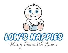 #7 para Logo Design for Low's Nappies de aneesgrace