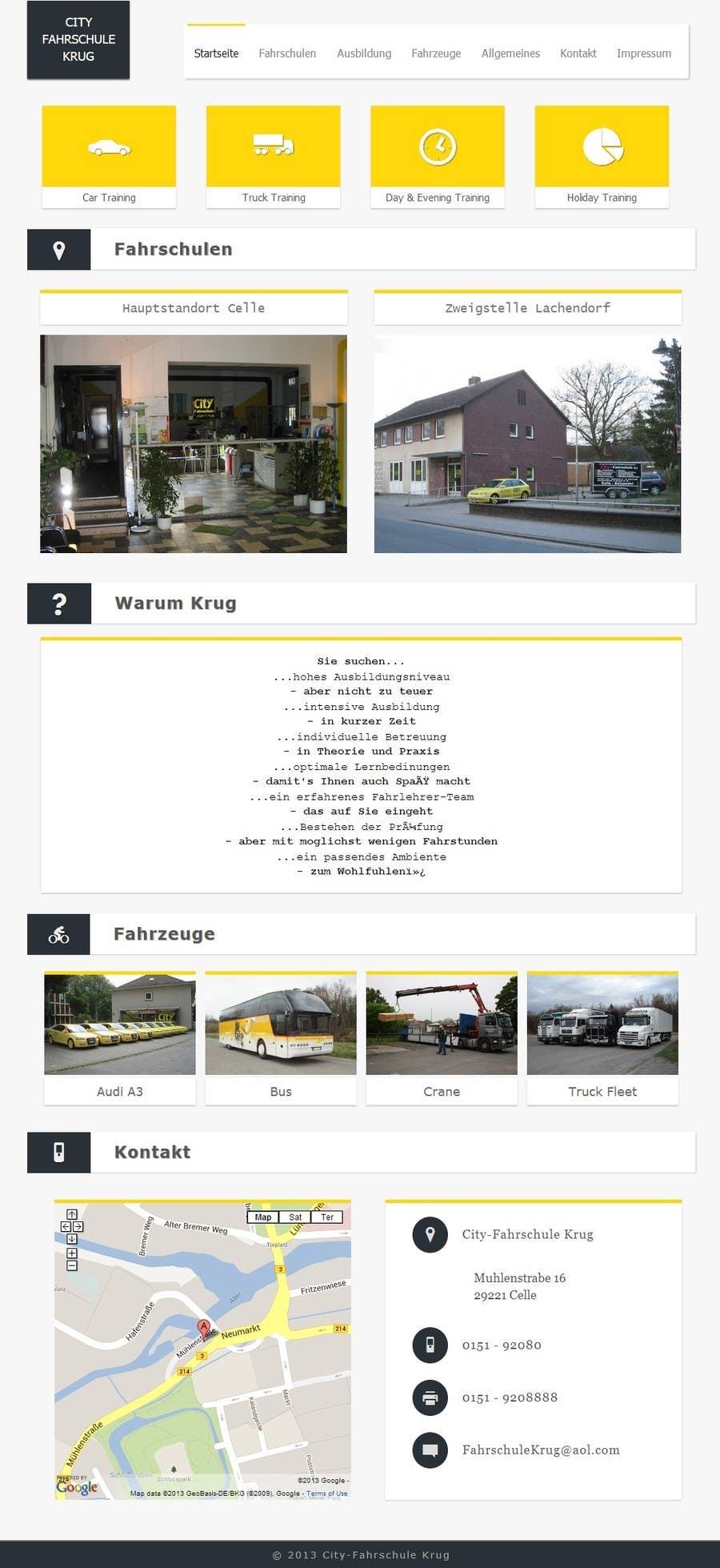 Bài tham dự cuộc thi #                                        3                                      cho                                         Webpage design for Driving School