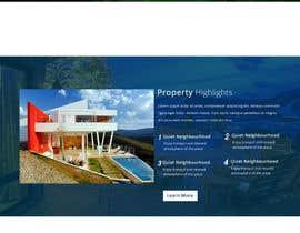 #30 untuk design Website Mockup for a real estate website oleh ramjipandey1991