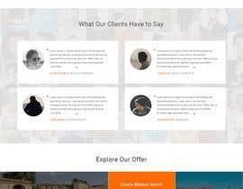 #28 untuk design Website Mockup for a real estate website oleh amitpokhriyalchd