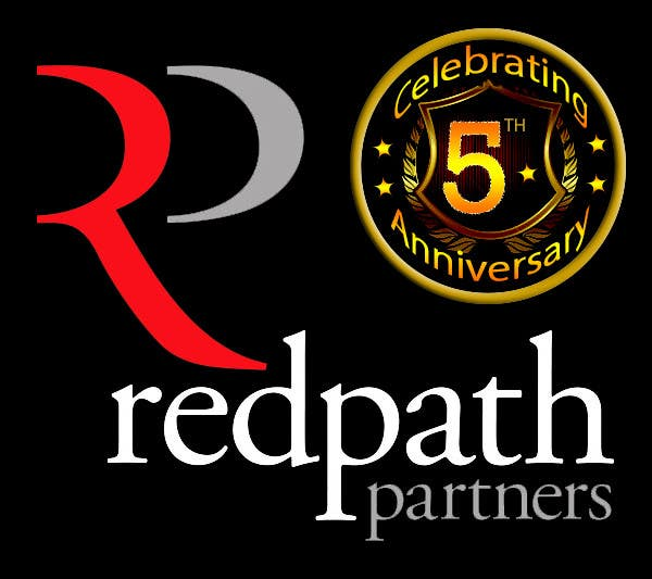 Konkurrenceindlæg #67 for Design a Logo for Redpath Partners' 5 Year Anniversary