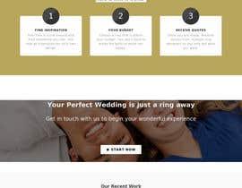 #36 untuk Design a Website home / landing page oleh Chisangu