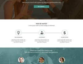 #7 untuk Design a Website home / landing page oleh Pavithranmm