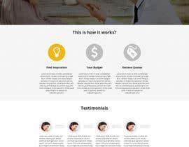 #39 untuk Design a Website home / landing page oleh Psynsation