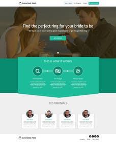 #50 untuk Design a Website home / landing page oleh ankisethiya
