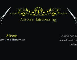 #17 cho Design some Business Cards for a Small Hairdressing Business bởi CharlesNgu