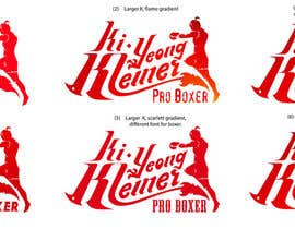 #100 para Design a Logo for Female Kickboxer por MichaelCheung