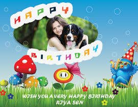 #13 cho Birthday greeting contest bởi priyav09