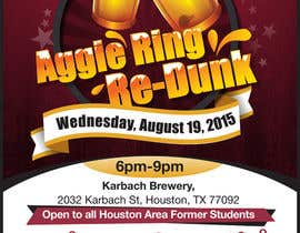 #7 for Design a Flyer for Aggie Ring Re-Dunk af rajeshe180