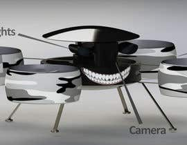 #13 for Do some 3D modeling for recreational Drone prototype af nicogiudiche