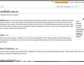 #5 cho Content Writing for www.totalb2b.com.au bởi penanpaper