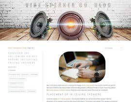 #13 untuk Design a top image for blog page of our website oleh htanhdesign