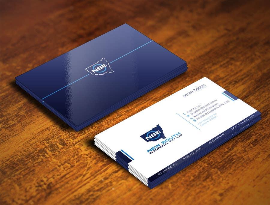 Konkurrenceindlæg #54 for Design some Business Cards for NSE