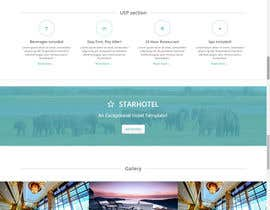 #2 for Design a Website Mockup for a Hotel Company by dhanvarshini