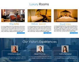 #6 for Design a Website Mockup for a Hotel Company by shinupraj