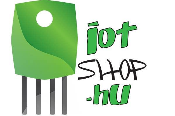 Penyertaan Peraduan #7 untuk Create Logo desing for our electronic webshop