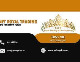 #6 untuk Design a letterhead and business cards for a trading company. oleh rockymk