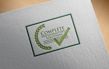 #9 untuk Design a Logo for Complete Phytosanitary Solutions oleh shanzaedesigns