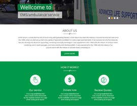 #49 untuk Design a Website Mockup for Non-Profit EMS Agency oleh Evgeniya82