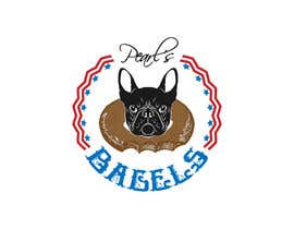 "#17 for French Bulldog -- ""Pearl's Bagels"" bagel company logo by fasih4"