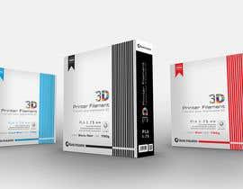 #42 untuk Create Print and Packaging Designs for 3D Filament oleh madlabcreative